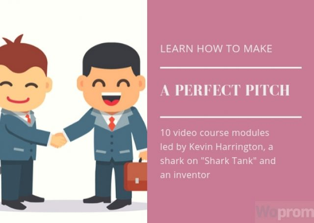 How to make a perfect pitch?