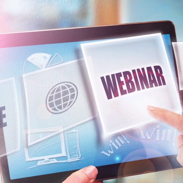 Create interactive webinars